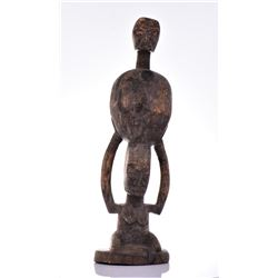 African Igbo Wood Power Figure Sculpture, Nigeria.