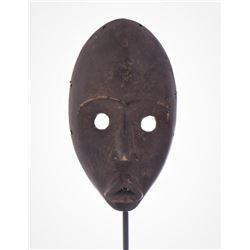 African Dan Wood Mask Liberia.