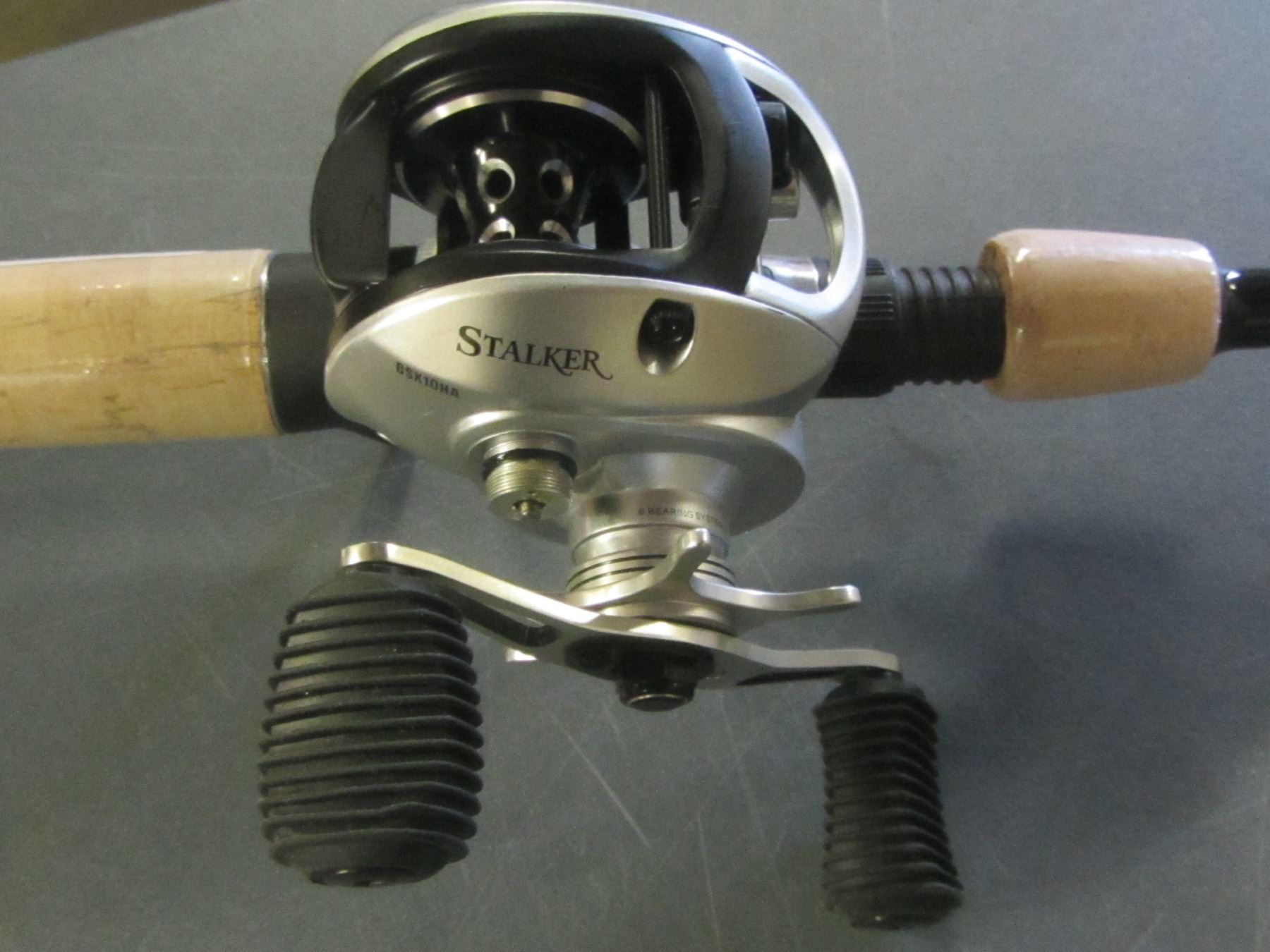 New Browning Stalker Rod with Baitcast Reel / 7ft one piece