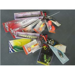 Large bundle of New Fishing Lures/Tackle /