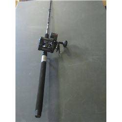 New  Strata Max Trolling Rod & Reel Combo / reel has depth/yardage counter