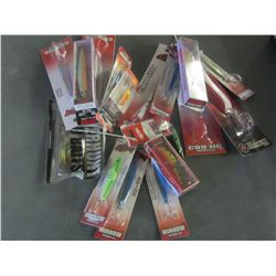 Very Large flat of Fishing Lures/Tackle