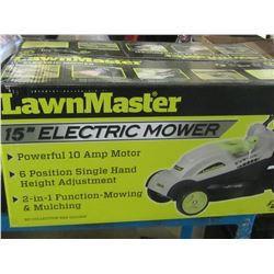 15 inch Lawnmaster Electric Lawnmower / Tested Working / used only once