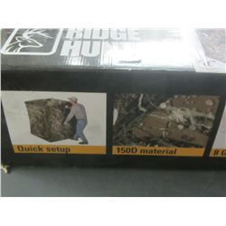 Terra XL Ground Hunting Blind / quick set up easy transport / one pole is bent