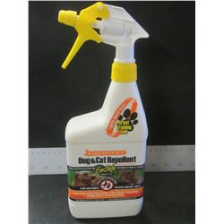 New Liquid Fence  Dog & Cat Repellent / Keeps Cats out of flower beds &