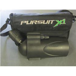 Pursuit  X1 Spotting Scope -  25 - 75 X  70 with case