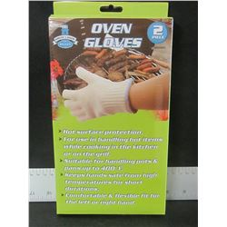 New 1 Pair Oven Gloves / a must have for BBQ or Camping