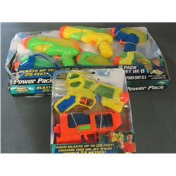 Bundle of 8 Water Warriors Water Blasters
