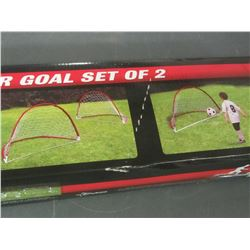 Rawlings Portable soccer goals set of 2