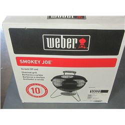 New Weber Smokey Joe Portable Charcoal Grill