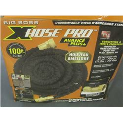 Big Boss X Hose Pro 100ft advanced plus with solid brass fittings