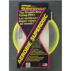 New Aerobie Superdisk / worlds best flying disks