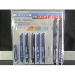 New MasterCraft 32 piece Recip/Sawzall Blades / 4-6-&9""
