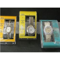 Lot of 3 New Women's Quartz Watches