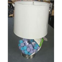 New Kids Pom Pom Filled Bedroom Lamp
