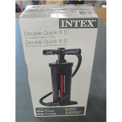 New Intex Double quick Hi Output Hand Pump