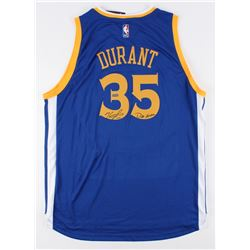 b82b4a1d4ef Kevin Durant Signed LE Warriors Adidas Jersey Inscribed
