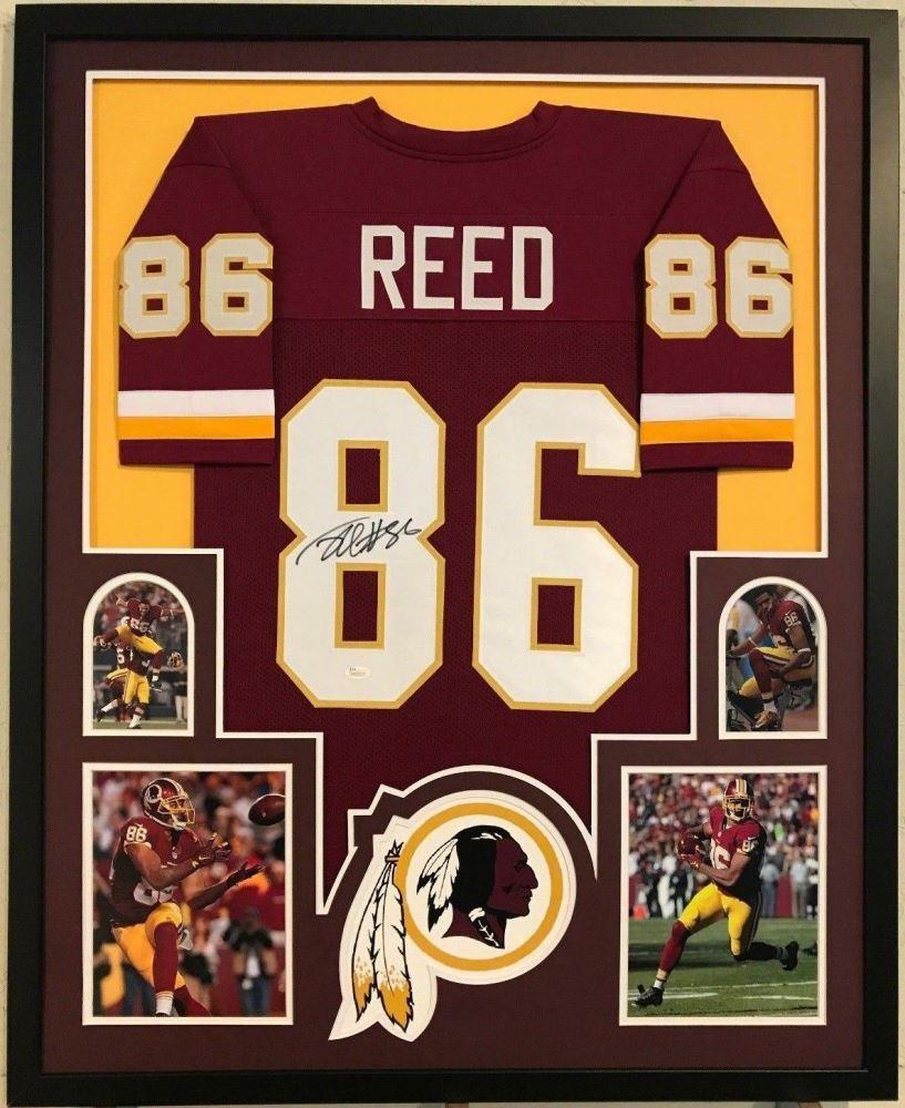 on sale 249b4 97059 Jordan Reed Signed Redskins 34x42 Custom Framed Jersey ...