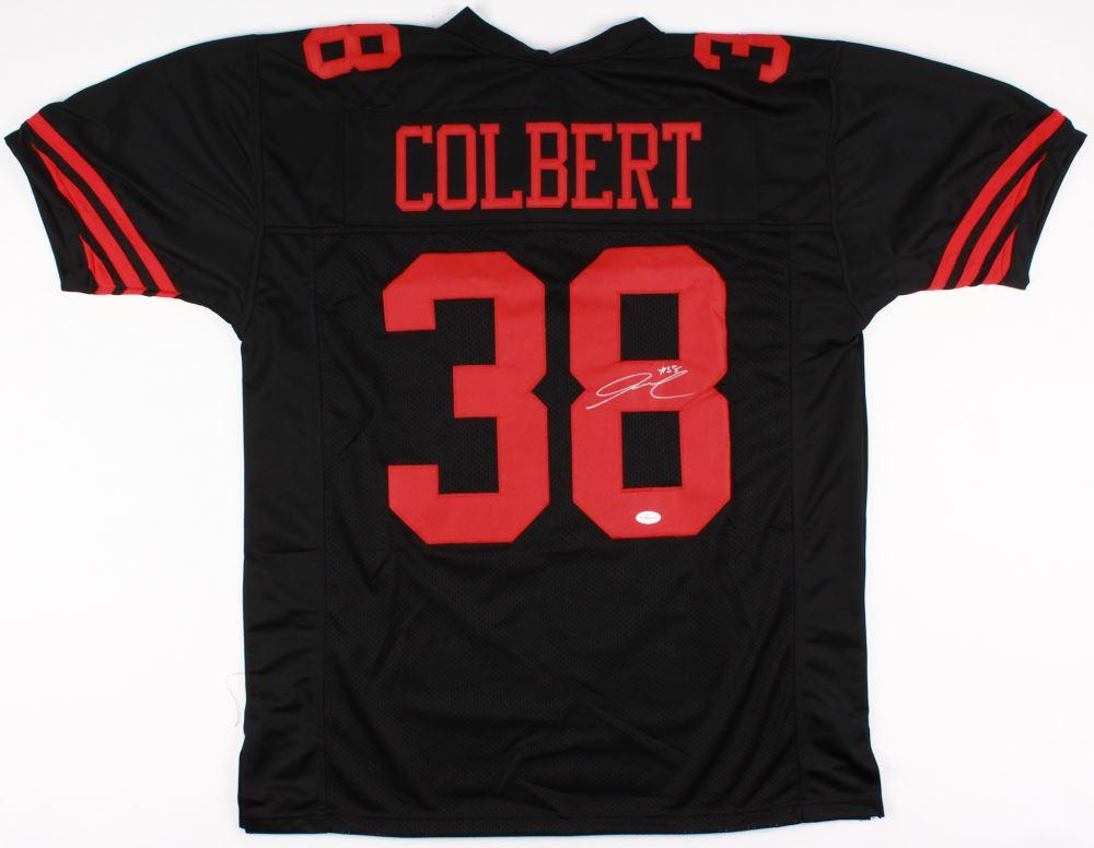 huge selection of 755e7 71a92 Adrian Colbert Signed 49ers Jersey (TSE COA)