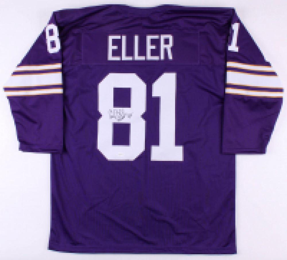 c6f6d8ad Image 1 : Carl Eller Signed Vikings Jersey (TSE Hologram)