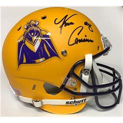 ecdac6bf091 Kirk Cousins Signed Vikings Full-Size Matte Yellow Helmet (Beckett COA)