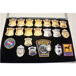 18DC-5 15 BOSTON BADGES