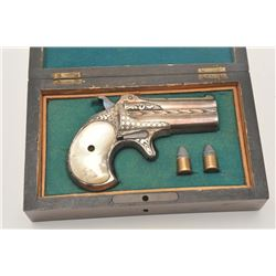 18DL-3 ETCHED  ENGRAVED O/U DERRINGER