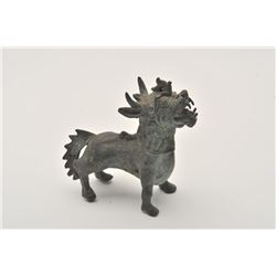 18LKY-11 ANTIQUE BRONZE DEITY