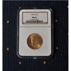 18FW-10 1910 $10 IND.