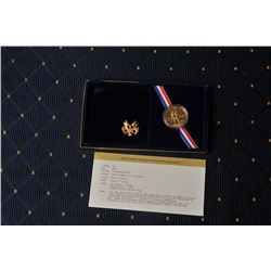 18FW-3 1984D OLYMPIC COIN