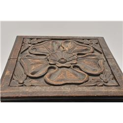 18DH-30 CARVED WOODEN BOX