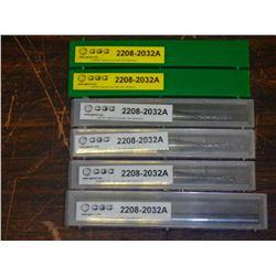 New CGC Tool Solid Carbide De-Burring Tools, P/N: 2208-2032A