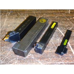 Lot of Misc Kennametal Indexable Lathe Tool Holders, See Desc for Info