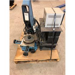 Micro Vu Optical Comparator w/Measuring Controls