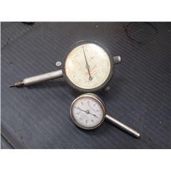 Starret Dial Indicators, M/N's: (1) 196, (1) 25-131