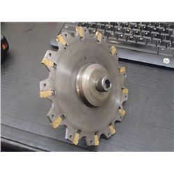 """6"""" x 5/32"""" Indexable Slot Milling Cutter with Arbor Holder"""