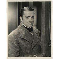 """Sherlock Holmes"" (22) photographs of Clive Brook, Basil Rathbone, and Peter Cushing."