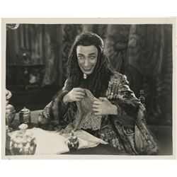 Conrad Veidt portrait photograph from The Man Who Laughs.