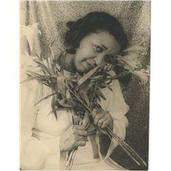 Ethel Waters portrait photograph by Van Vechten.