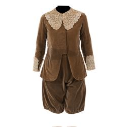 """Mary Pickford """"Cedric Errol"""" costume from Little Lord Fauntleroy."""