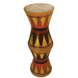 Tribal double-headed drum prop from King Kong.