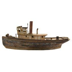 Tugboat model miniature from Tugboat Annie.