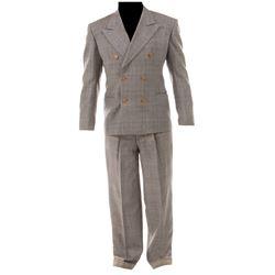 "Humphrey Bogart ""Turkey Morgan"" suit from Kid Galahad."