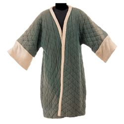 """Gary Cooper """"Marco Polo"""" quilted robe from The Adventures of Marco Polo."""