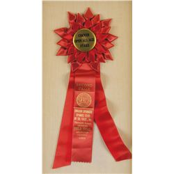 Clark Gable personal (4) American Kennel Club ribbons.