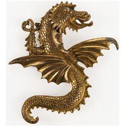 Alexander Korda dragon brooch from The Thief of Bagdad.