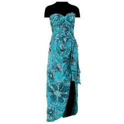 Dorothy Lamour personal blue sarong.