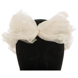 Dorothy Lamour personal (4) mesh net fashion headbands.