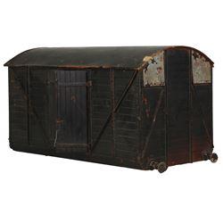 MGM Studios prop boxcar.