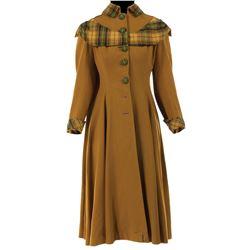 """Elizabeth Taylor """"Amy"""" coat from Little Women."""